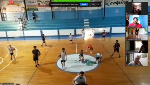 Encuentro campus mini basquetbol