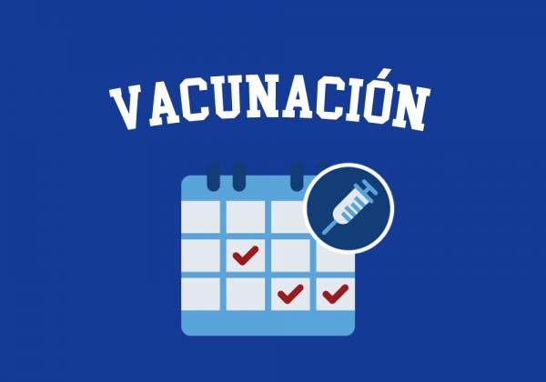 Vacunación 1°, 4°, 5° y 8° Básico