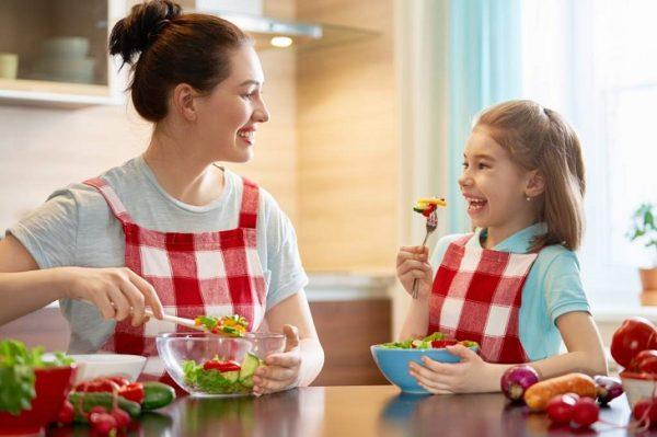 sanos en casa alimentación saludable con BCAM