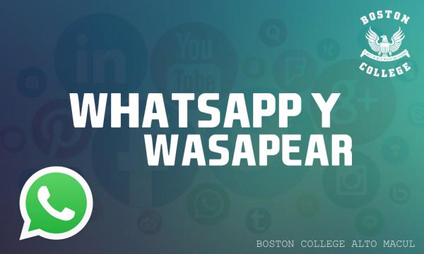 Uso responsable de Whatsapp y redes sociales.