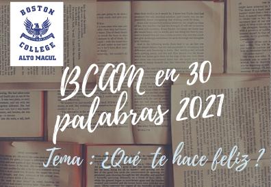 BCAM EN 30 PALABRAS
