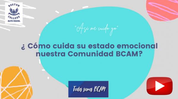 (VIDEO) ¿ Qué hace Feliz a la comunidad BCAM?