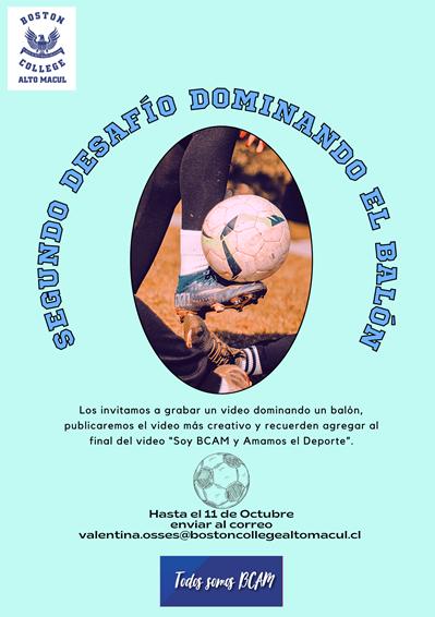 """Segundo Desafío Deportivo """"Dominando el BALÓN"""""""